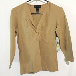 🛍💰NWT Nine West Separates Malt Shirt